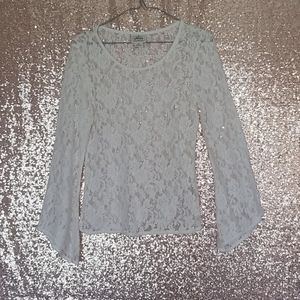 Western Ariat Shirt with Lace